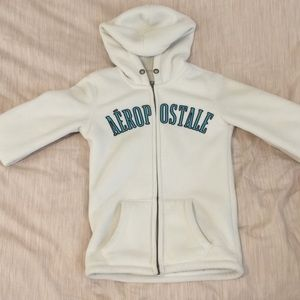Aéropostale Women's small white hoodie